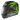 Nolan N86 Specter svart/grön XS