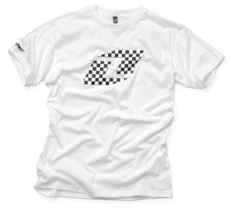 One Tee Checkered Vit L