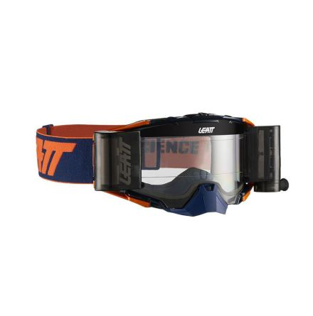 Leatt Goggle Velocity 6.5 Roll-Off Ink/ORange klart 83%
