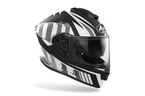 Airoh ST 501 Blade  Matt vit svart